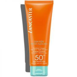 Lancaster Sun Kids Comfort Cream Wet Skin Application SPF50 125ml