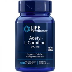 Life Extension Acetyl-L-Carnitine 500mg Vegicaps 100
