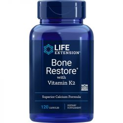 Life Extension Bone Restore with Vitamin K2 Caps 120
