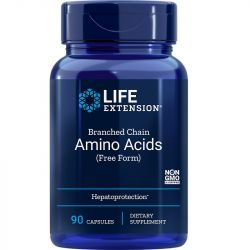 Life Extension Branched Chain Amino Acids Caps 90