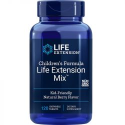 Life Extension Children's Formula Life Extension Mix Natural Berry Chew Tabs 120