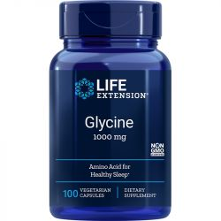 Life Extension Glycine 1000mg Vegicaps 100