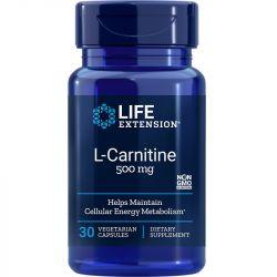 Life Extension L-Carnitine 500mg Vegicaps 30