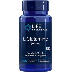 Life Extension L-Glutamine 500mg Vegicaps 100