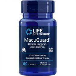 Life Extension MacuGuard Ocular Support Softgels 60