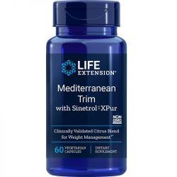 Life Extension Mediterranean Trim with Sinetrol-XPur Vegicaps 60