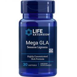 Life Extension Mega GLA with Sesame Lignans Softgels 30