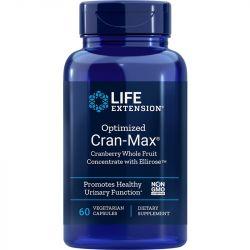 Life Extension Optimised Cran-Max Vegicaps 60