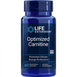 Life Extension Optimized Carnitine Vegicaps 60