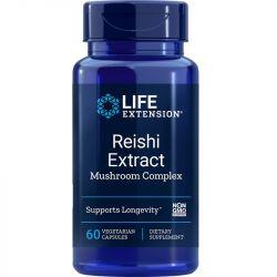 Life Extension Reishi Extract Mushroom Complex Vegicaps 60
