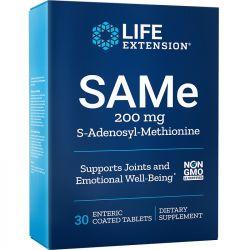 Life Extension SAMe S-Adenosyl-Methionine 200mg Tabs 30