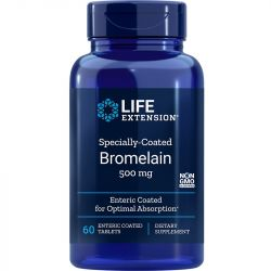 Life Extension Specially-Coated Bromelain 500mg Tabs 60