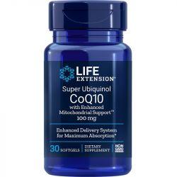 Life Extension Super Ubiquinol CoQ10 with Enhanced Mitochondrial Support 100mg Softgels 30