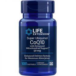 Life Extension Super Ubiquinol CoQ10 with Enhanced Mitochondrial Support 50mg Softgels 100
