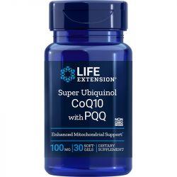 Life Extension Super Ubiquinol CoQ10 with PQQ 100mg Softgels 30