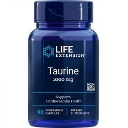 Life Extension Taurine 1000mg Vegicaps 90