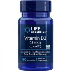 Life Extension Vitamin D3 1000iu Softgels 90