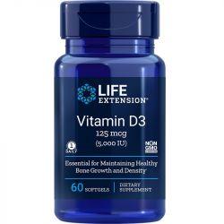 Life Extension Vitamin D3 5000 IU Softgels 60