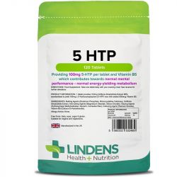 Lindens 5-HTP 100mg Tablets 120