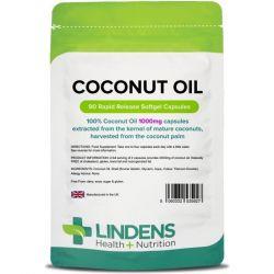 Lindens Coconut Oil 1000mg Caps 90