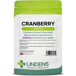 Lindens Cranberry Juice 5000mg tablets 100