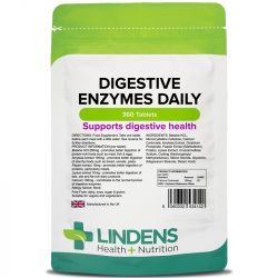 Lindens Digestive Enzymes Daily Tablets 360