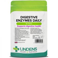 Lindens Digestive Enzymes Daily Tablets 90