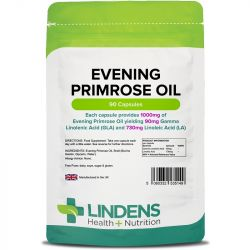 Lindens Evening Primrose Oil 1000mg Capsules 90