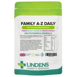 Lindens Family A-Z Daily Multivitamin Chewable 90