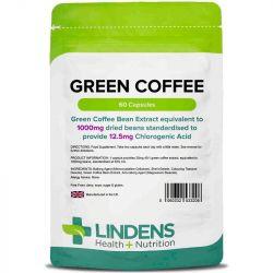 Lindens Green Coffee 1000mg (12.5mg Chlorogenic Acid) Caps 60