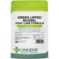 Lindens Green Lipped Mussel 500mg Capsules 90