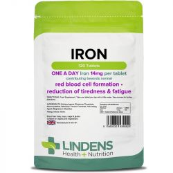 Lindens Iron 14mg Tablets 120