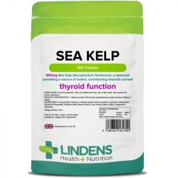 Lindens Kelp 500mg Tablets 100