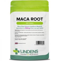 Lindens Maca 500mg Tablets 100