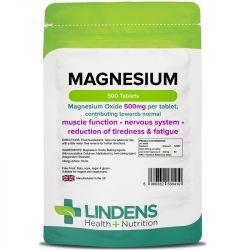 Lindens Magnesium (MgO 500mg) Tablets 500