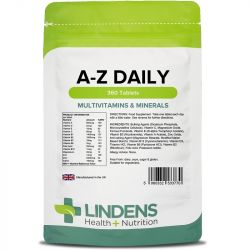 Lindens Multivitamins A-Z Daily Tablets 360