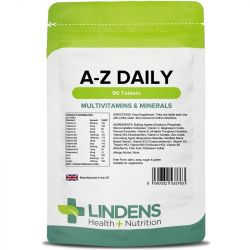 Lindens Multivitamins A-Z Daily Tablets 90