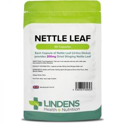 Lindens Nettle 200mg Capsules 60