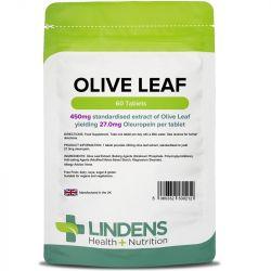 Lindens Olive Leaf (27mg oleuropein) Tablets 60