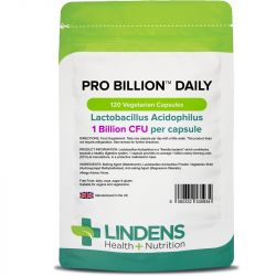 Lindens Pro Billion Daily 1bn Veg Capsules 120