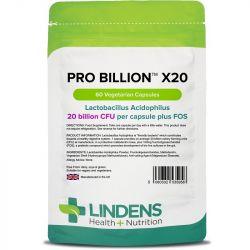 Lindens Pro Billion x20 20bn CFU VegCaps 60