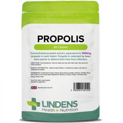 Lindens Propolis 1000mg Tablets 60