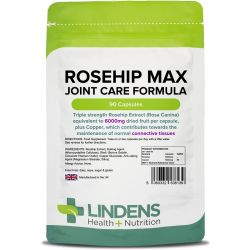 Lindens Rosehip Max Joint Care Formula Capsules 90