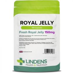 Lindens Royal Jelly 150mg Capsules 100