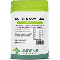 Lindens Super Vitamin B Complex Tabs 90