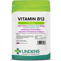Lindens Vitamin B12 (250mcg) Tablets 120