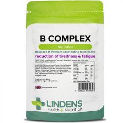 Lindens Vitamin B Complex Tablets 100