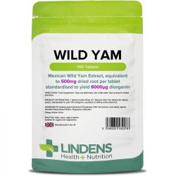 Lindens Wild Yam 500mg Tablets 100