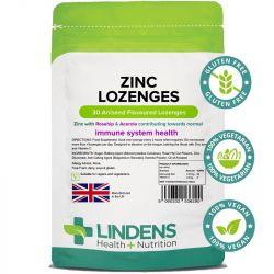 Lindens Zinc with Acerola Lozenges 30
