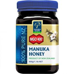 Manuka Health MGO 400+ Pure Manuka Honey 500g